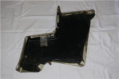 Mustang Convertible Lh Rear Quarter Interior Trim Panel