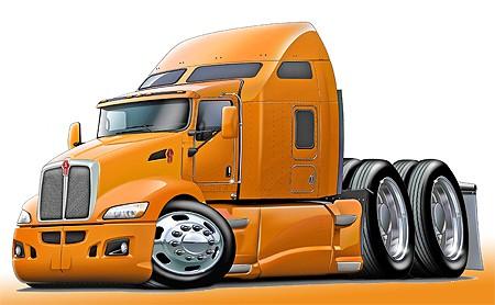 Kenworth 660 Semi Truck Art Print NEW | eBay