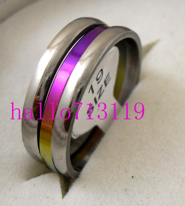 3pcs set mens womens stainless steel rings JEWELRY LOT RESALE