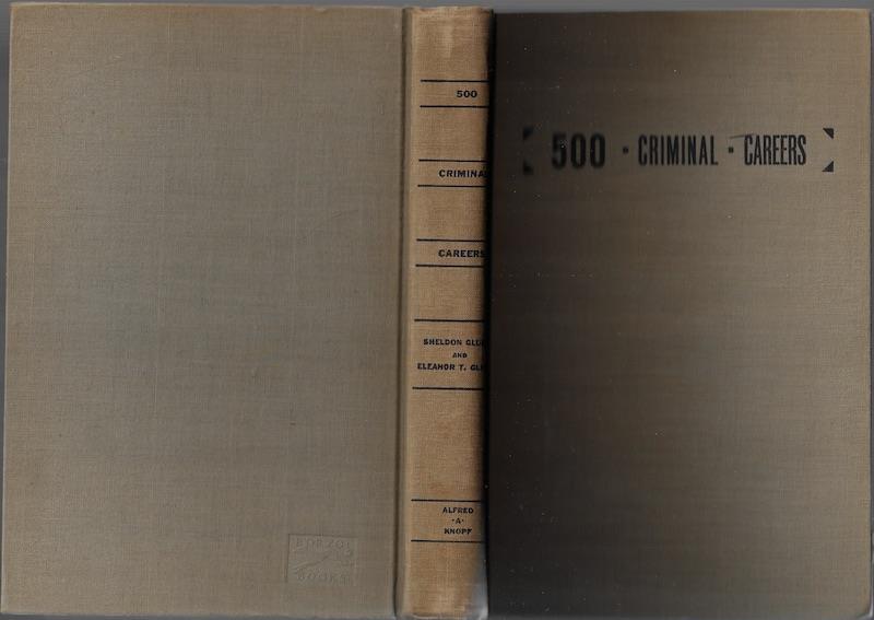 500 Criminal Careers