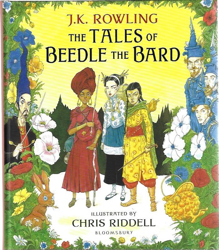 The Tales of Beedle the Bard:SIGNED Illustrated Edition Chris Riddell