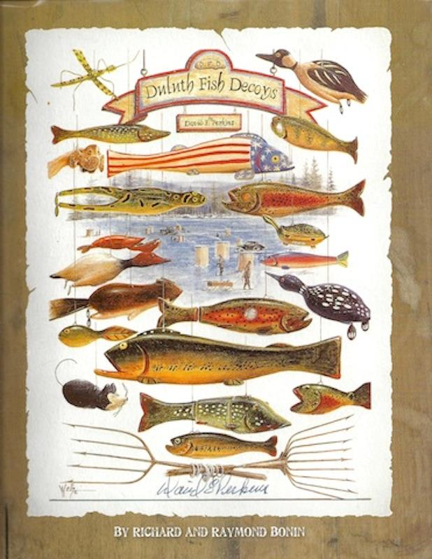 Image for David Perkins : Duluth Fish Decoys