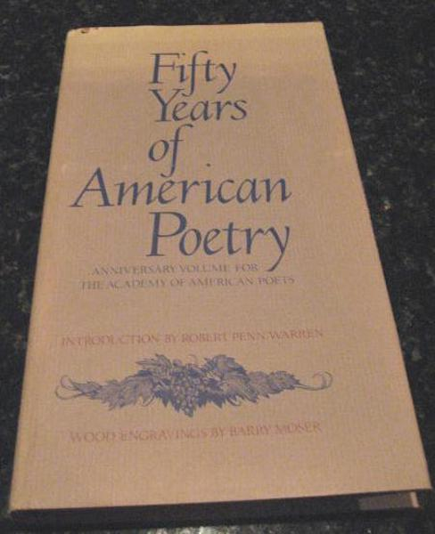 Fifty Years of American Poetry Moser Engravings