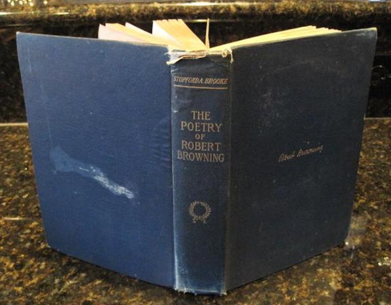 The poetry of Robert Browning [Hardcover] by BROOKE, Stopford A., Stopford A. BROOKE