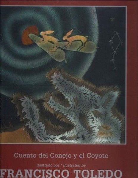 Cuento del Conejo y el Coyote = Didxaguca' sti' Lexu ne Gueu' = Tale of the Rabbit and the Coyote (Tezontle) (Spanish Edition)Signed Ltd Print, Toledo Natalia