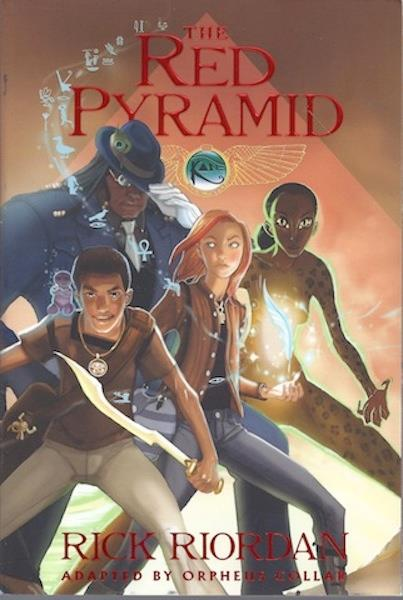 The Red Pyramid: The Graphic Novel, Book 1 (The Kane Chronicles), Riordan, Rick; Collar, Orpheus; Collar, Orpheus [Illustrator]