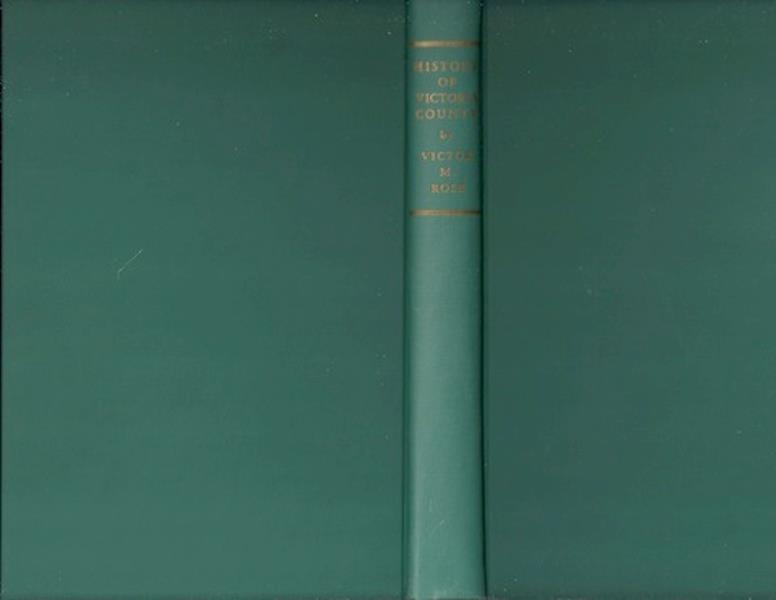 History of Victoria County -- Victor M. Rose, J. W. Petty, Jr., Editor