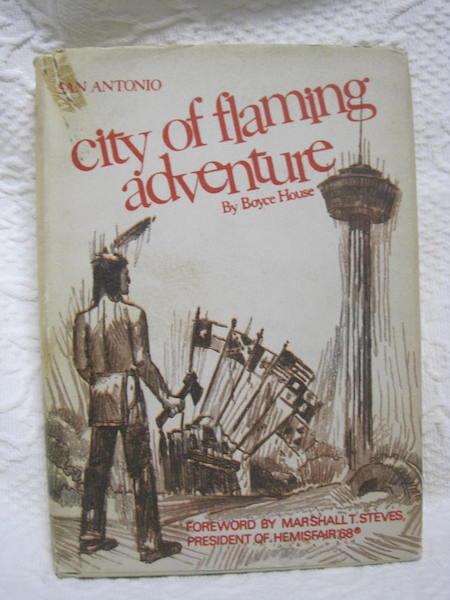 San Antonio City of Flaming Adventure Boyce House, House, Boyce