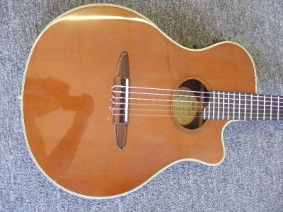 yamaha acoustic electric apx 10na nylon string guitar ebay. Black Bedroom Furniture Sets. Home Design Ideas
