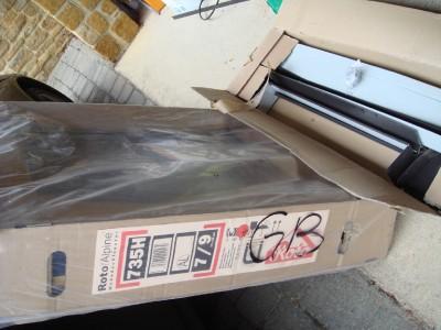 Roto Roof Window Skylight Like Velux Flashing Kit New Ebay