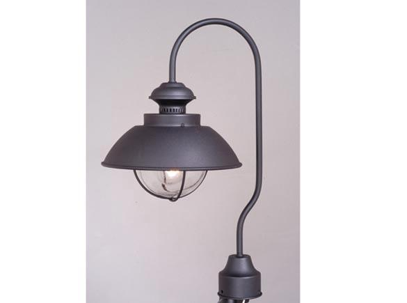 Outdoor Light Nautical Post Lighting Harwich Country Black OP21505TB