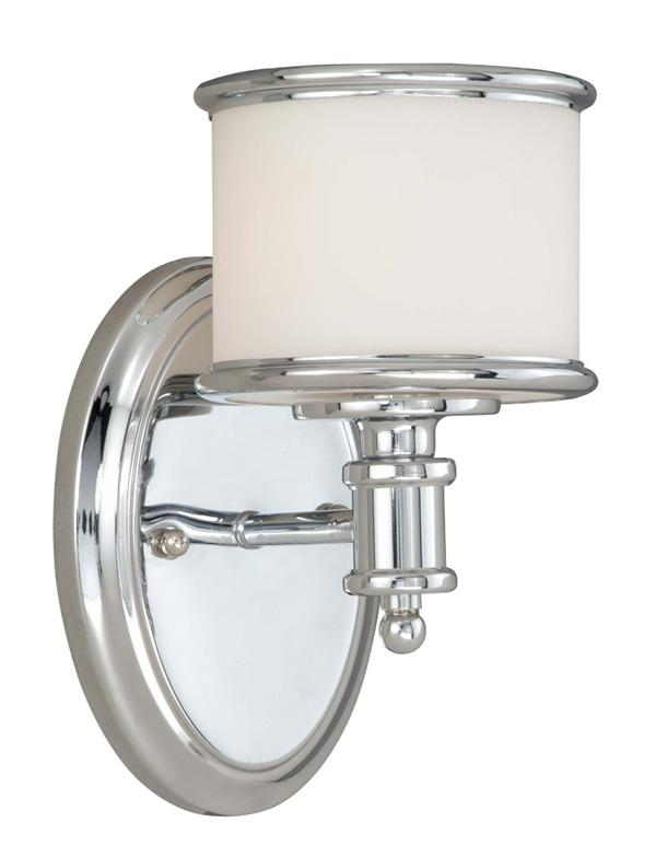 Small CARLISLE BATHROOM VANITY LAMP VAXCEL LIGHTING