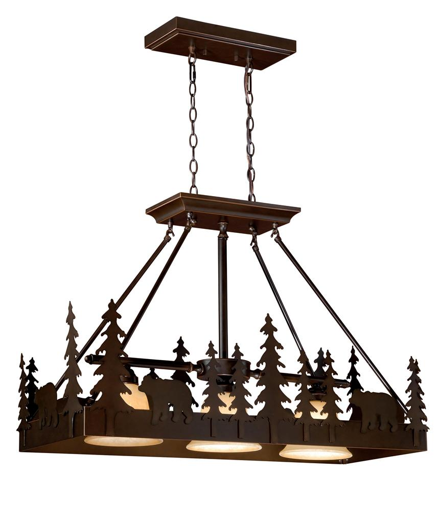 Details About Bozeman Bear Yellowstone 3 L Vaxcel Lodge Country Kitchen Lighting Pd55736bbz