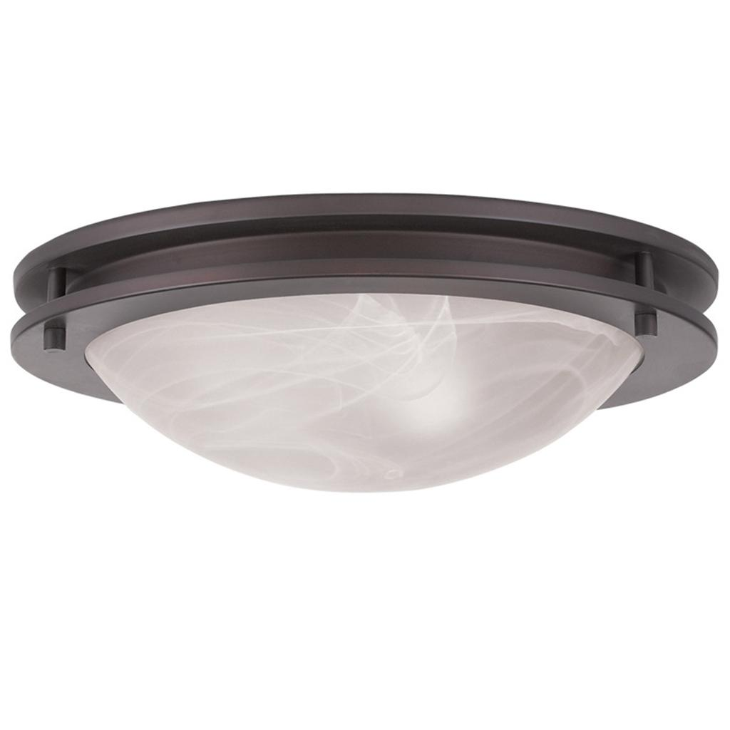 2 Light Livex Ariel Bronze Flush Mount Ceiling Discount