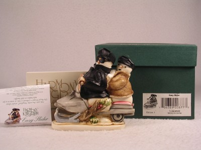 Harmony Kingdom /'Easy Slider/' Snowman-Snowmobile-V1  #TJSESN00  New In Box