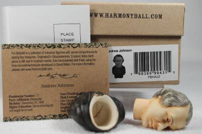Harmony Kingdom Ball Pot Bellys Belly /'Andrew Johnson/' #PBHAJ2 Retired New In Bx