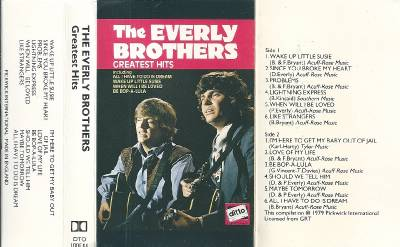 The Everly Brothers Greatest Hits Vol 1 Cassette