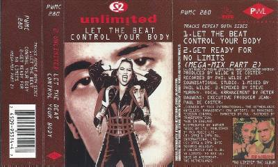 2 Unlimited Let The Beat Control Your Body Cassette