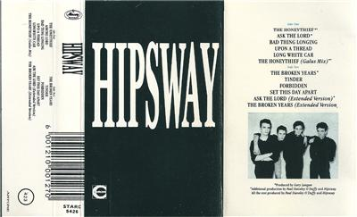 Hipsway Hipsway Self Titled Cassette Tape Album Ebay