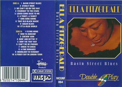 Ella Fitzgerald Basin Street Blues Double Play