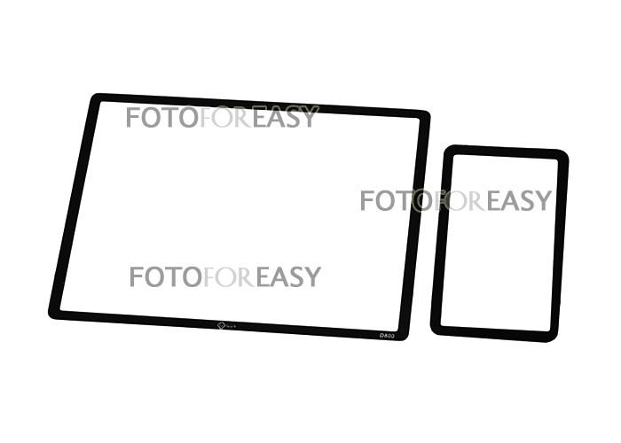 ggs optical glass rigid lcd screen protector for nikon