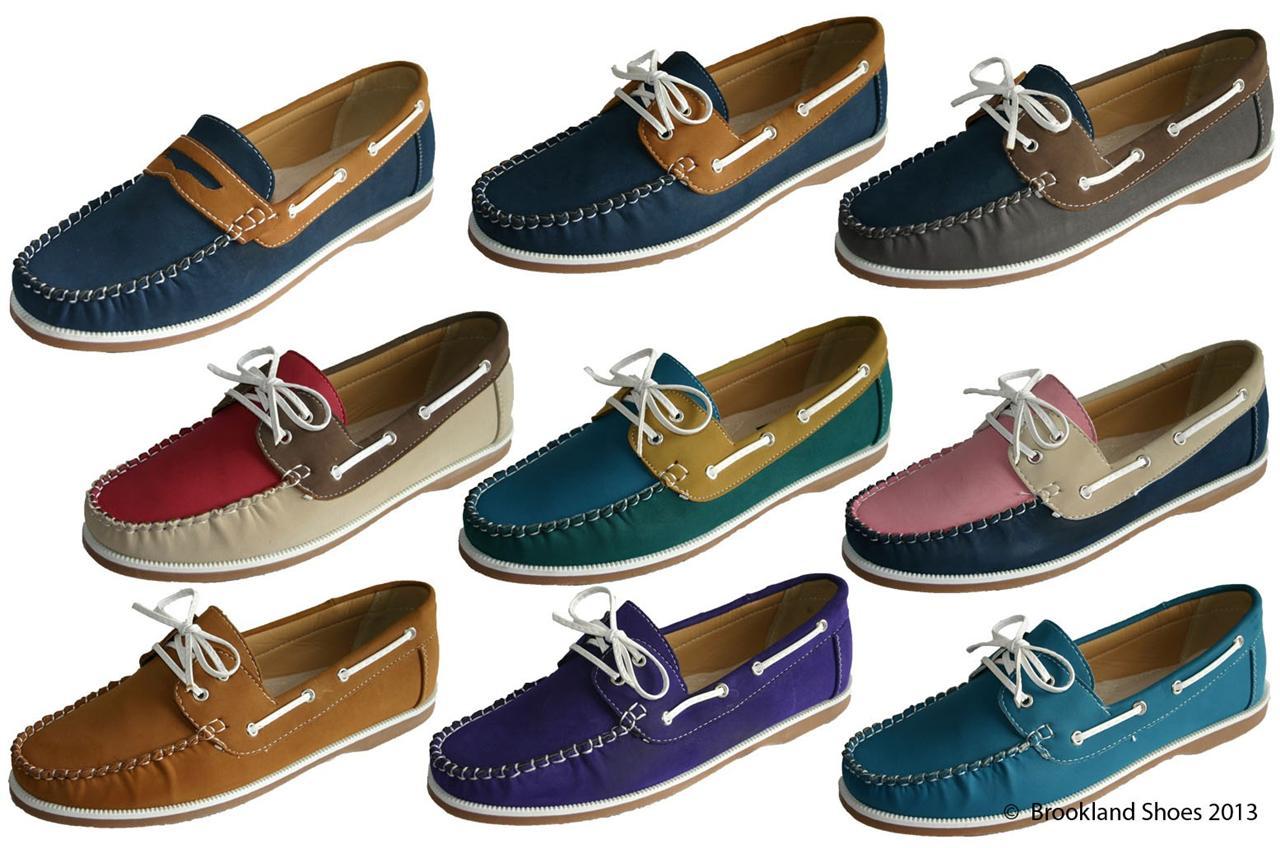 Deck Lace Up Boat Shoes