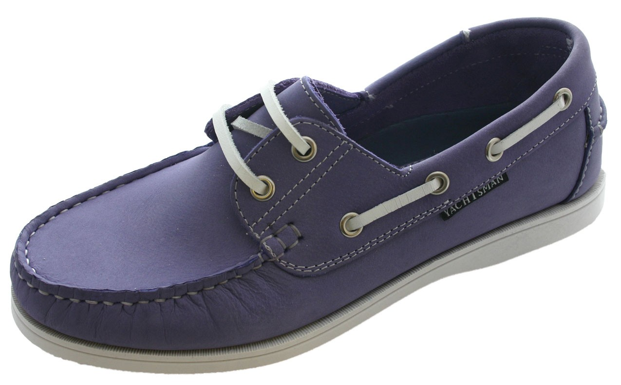 Yachtsman Boat Shoes Leather