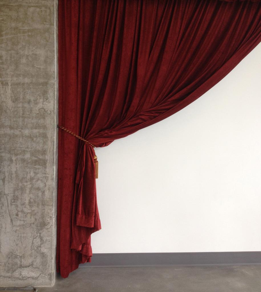 Burgundy 72 Inch H Fire Rated Velvet Curtain Panel W Rod Pocket Window Drapery Ebay