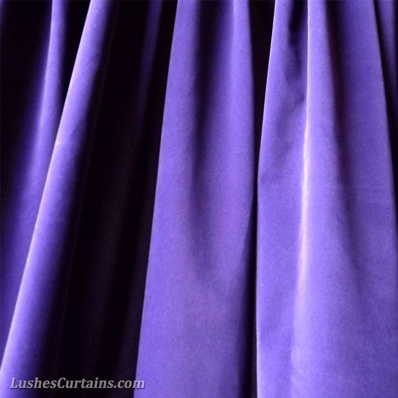 144 inch H Purple Velvet Curtain Extra Long Studio Theater Stage Panel Drapery eBay