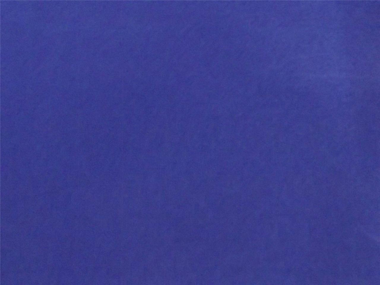 Royal Blue Flocked Velvet Fabric Upholstery Curtain Drapery Material