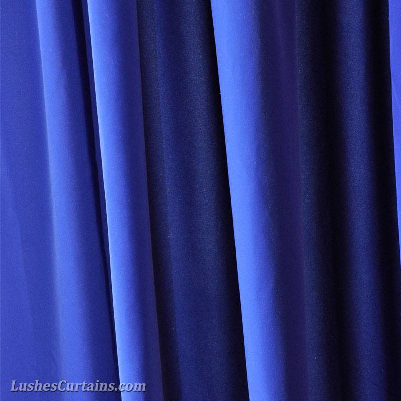 Monster High Event Stage Backdrop Drape Royal Blue Velvet 20 Curtain Long Panel