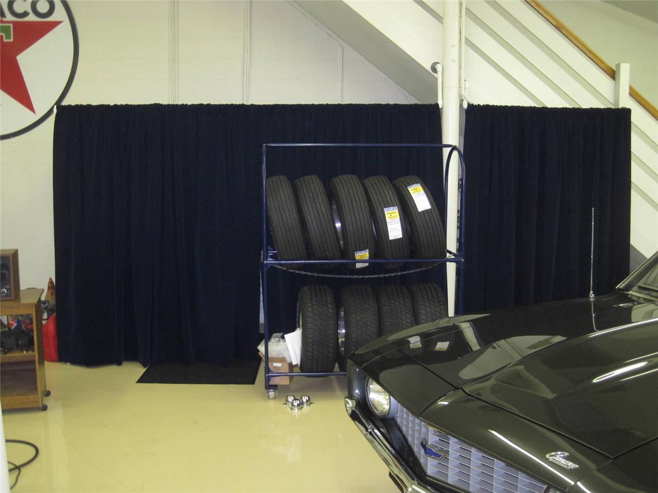 Navy Blue Custom Extra Long Drapes Velvet 20 H Curtain