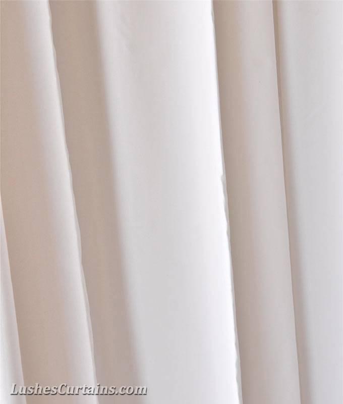 13 Ft H Solid White Velvet Curtain Long Panel Photoshoot Studio Backdrop Drape