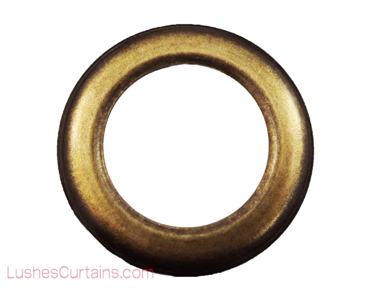 """Curtain Drapery Nickel Metal Grommets Eyelets #12 Inner Diameter 1-9//16/"""" Pack of"""