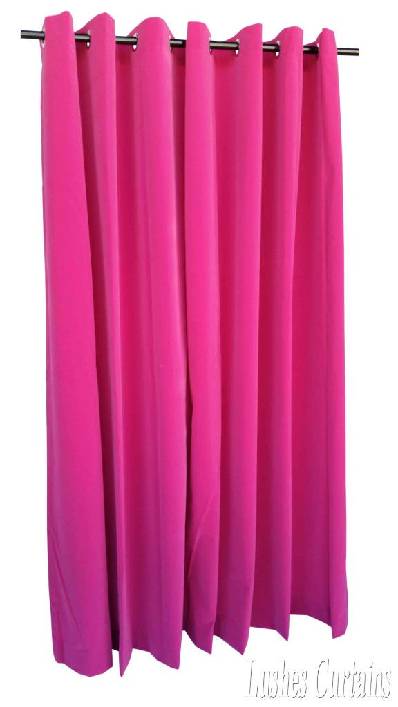 72 Best Images About Stuff I Like On Pinterest: Pink 72 Inch High Velvet Curtain Panel W/Ring Grommet Top