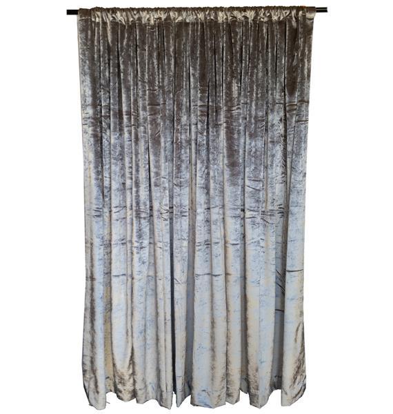 silber m h samt vorhang lange bahn extra lang fenster behandlung textilien ebay. Black Bedroom Furniture Sets. Home Design Ideas