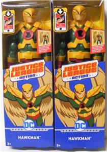 "DC Hawkman 12/"" Posable Action Figure Justice League Action Series Include Wings"