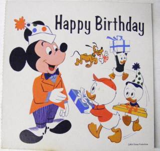 Printable disney birthday cards hcsclub disney birthday cards printable disney coloring pages to print for m4hsunfo