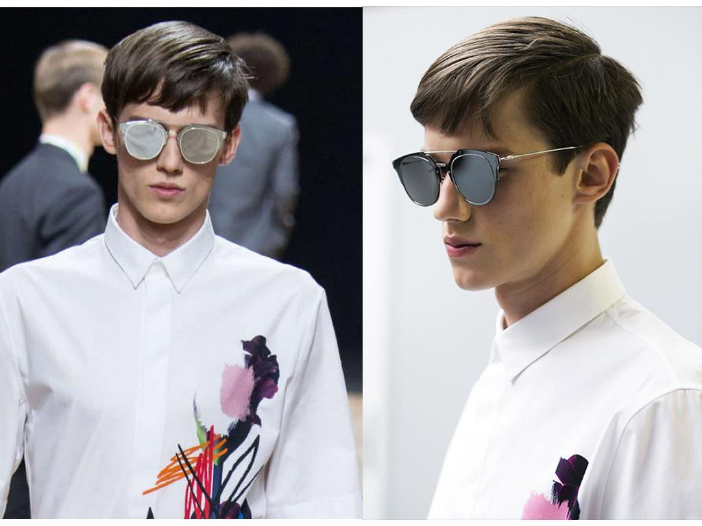 aec93f44e5c664 Mirrored Lens COMPOSIT 1.0 Men Women Sunglasses Christian Designer ...