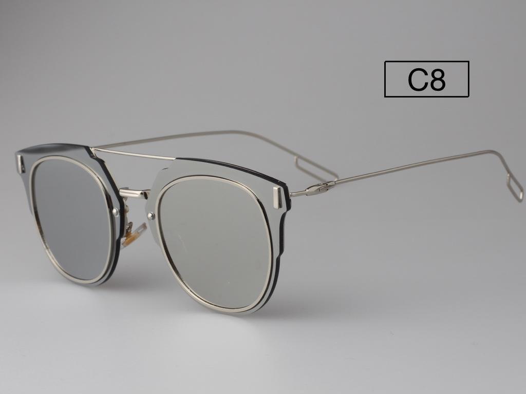 8e4751f7cf COMPOSIT 1.0 Mirrored Lens Men Women Sunglasses Christian Designer  Futuristic