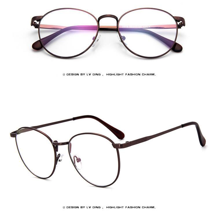 0369bcca3667 Round Eyeglass Frames Women. Thin Rim ...