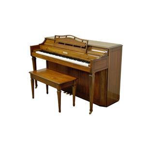 Vintage Baldwin Acrosonic Spinet Walnut Upright Console