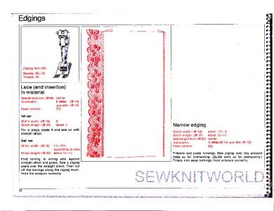 Bernina 830 Sewing Machine Instruction Manuals On Cd