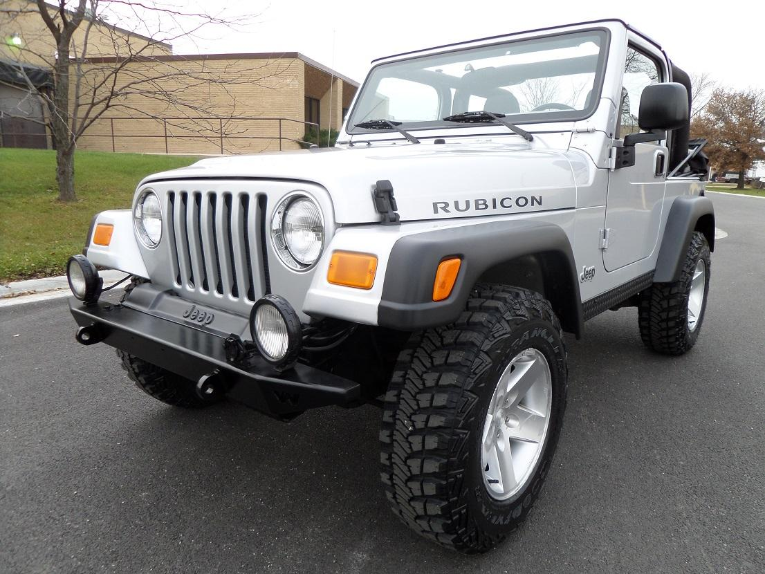 Find Used 2003 Jeep Wrangler Rubicon 5 Speed Manual A C Dana 44 New Tires In Addison Illinois United States For Us 14 990 00