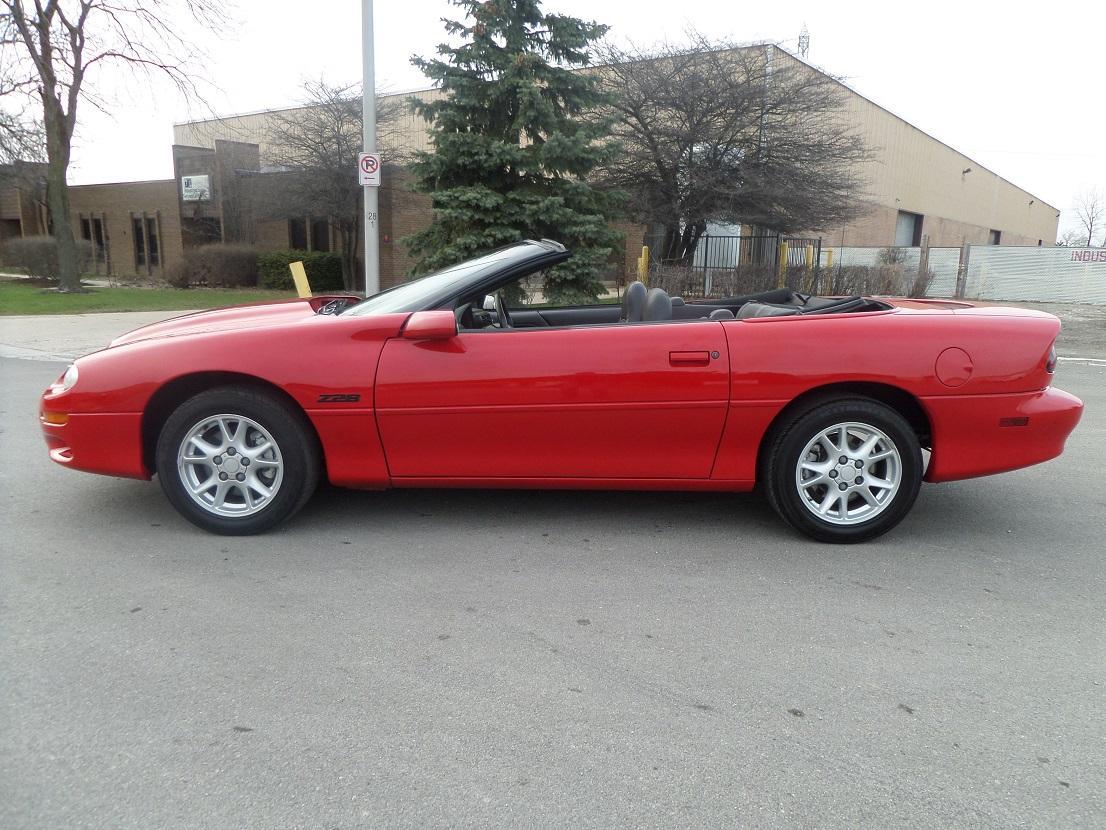2002 Chevrolet Camaro Z28 Convertible 5 7l V8 Automatic Leather Stock