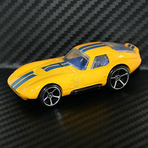 Hot Wheels Hotwheel 2009 Shelby Cobra Daytona Mystery Car Yellow