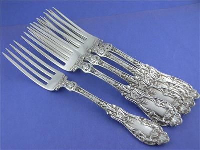 """Lancaster by Gorham Sterling Silver Pastry Fork 3-Tine 5 3//4/"""""""
