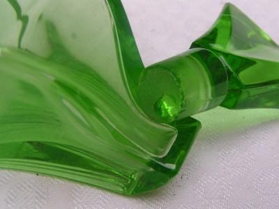 Beautiful Art Deco Czech Cut Glass Perfume Vanity Set