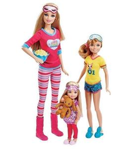 New in box Barbie Sisters Slumber Party Doll Set by Mattel