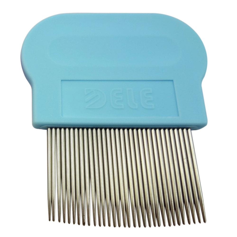 Flea Comb for Cats Kittens - Blue